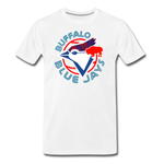 Men's Buffalo Baseball Premium T-Shirt - white