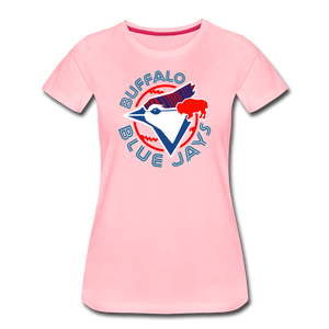 Women's Buffalo Baseball Premium T-Shirt - pink