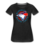 Women's Buffalo Baseball Premium T-Shirt - charcoal gray