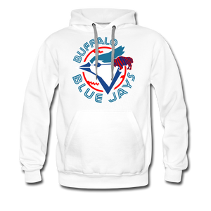 Men's Buffalo Blue Jays Premium Hoodie - white