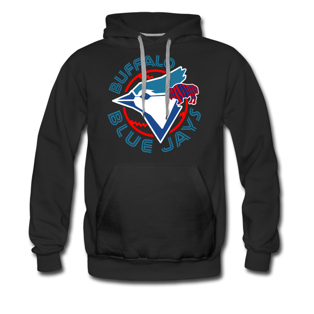Men's Buffalo Blue Jays Premium Hoodie - black