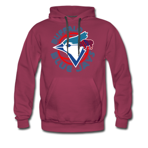 Men's Buffalo Blue Jays Premium Hoodie - burgundy