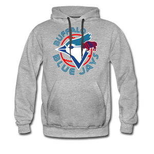 Men's Buffalo Blue Jays Premium Hoodie - heather gray