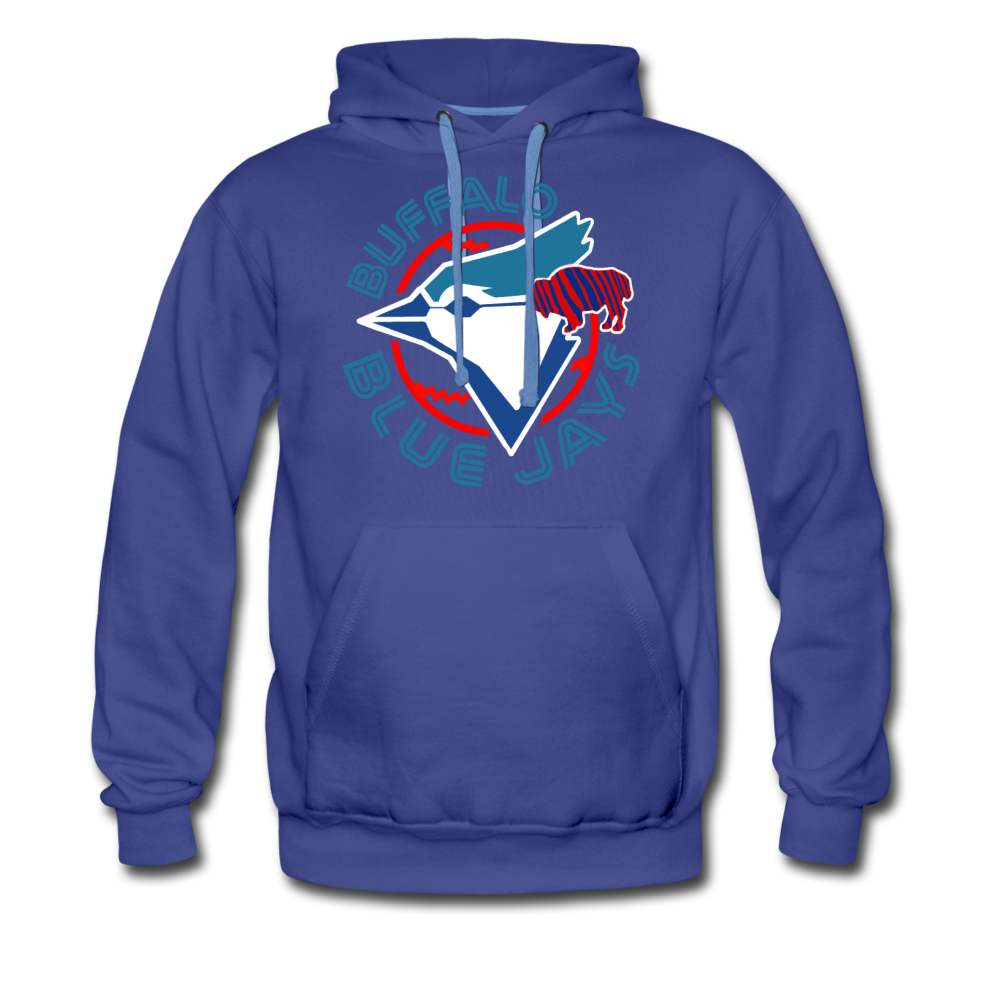 Men's Buffalo Blue Jays Premium Hoodie - royalblue