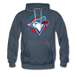 Men's Buffalo Blue Jays Premium Hoodie - heather denim
