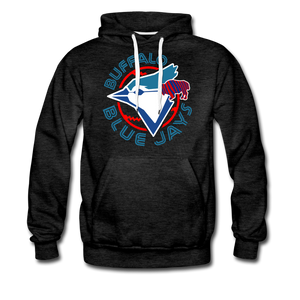 Men's Buffalo Blue Jays Premium Hoodie - charcoal gray