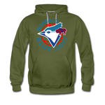 Men's Buffalo Blue Jays Premium Hoodie - olive green