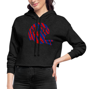 Women's Mafia Cropped Hoodie - deep heather