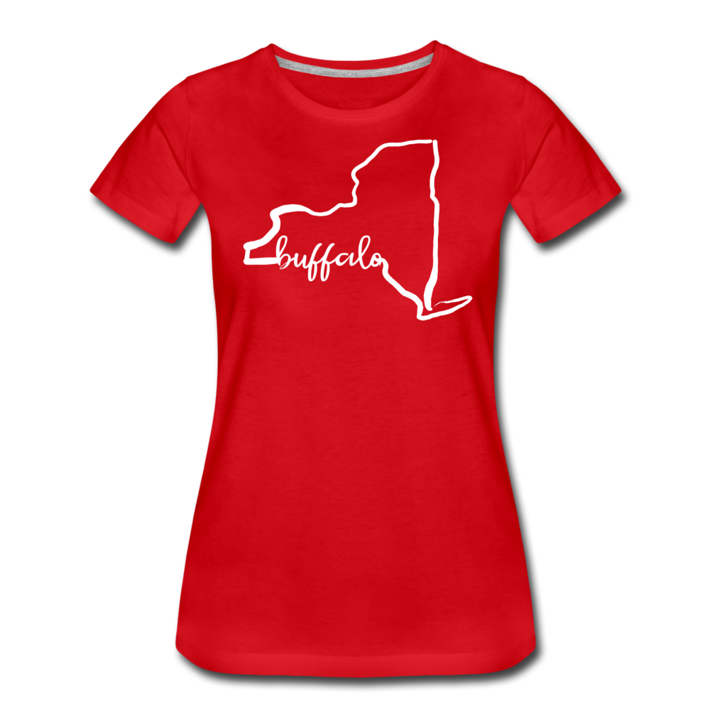 Women's NYS Premium T-Shirt - red