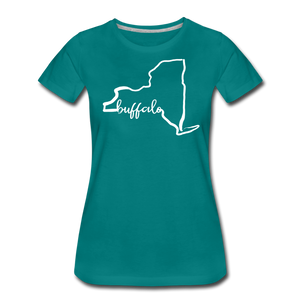 Women's NYS Premium T-Shirt - teal