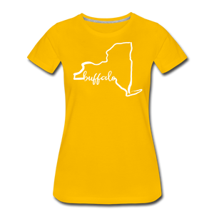 Women's NYS Premium T-Shirt - sun yellow
