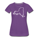 Women's NYS Premium T-Shirt - purple