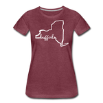 Women's NYS Premium T-Shirt - heather burgundy