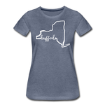 Women's NYS Premium T-Shirt - heather blue