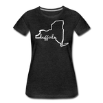 Women's NYS Premium T-Shirt - charcoal gray
