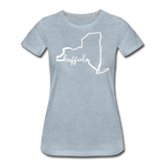 Women's NYS Premium T-Shirt - heather ice blue