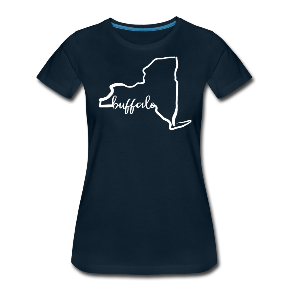 Women's NYS Premium T-Shirt - deep navy