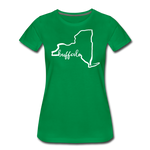 Women's NYS Premium T-Shirt - kelly green