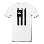 Men's Buffalo USA Premium T-Shirt - white