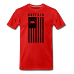Men's Buffalo USA Premium T-Shirt - red