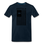 Men's Buffalo USA Premium T-Shirt - deep navy