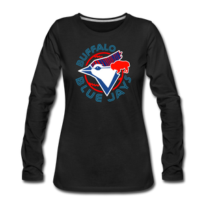 Women's Buffalo Blue Jays Premium Long Sleeve Shirt - black