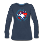 Women's Buffalo Blue Jays Premium Long Sleeve Shirt - navy