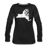 Women's Snow Premium Long Sleeve T-Shirt - black