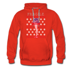 Men's Fragile Christmas Premium Hoodie - red