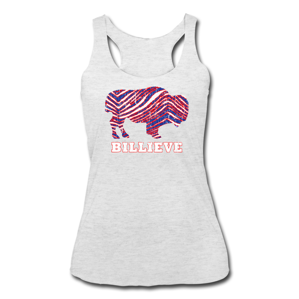 Women's Billieve Tri-Blend Racerback Tank - heather white