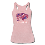 Women's Billieve Tri-Blend Racerback Tank - heather dusty rose