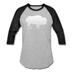 Unisex Adidas Baseball T-Shirt - heather gray/black