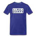 Men's Vegan Premium T-Shirt - royal blue