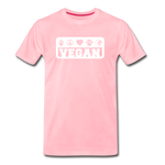 Men's Vegan Premium T-Shirt - pink