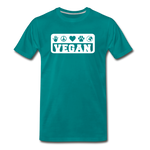 Men's Vegan Premium T-Shirt - teal