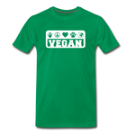 Men's Vegan Premium T-Shirt - kelly green