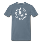 Men's Kale Premium T-Shirt - steel blue