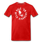 Men's Kale Premium T-Shirt - red