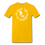 Men's Kale Premium T-Shirt - sun yellow