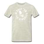 Men's Kale Premium T-Shirt - heather oatmeal