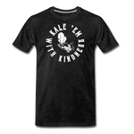 Men's Kale Premium T-Shirt - charcoal gray