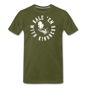 Men's Kale Premium T-Shirt - olive green