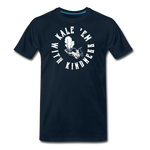 Men's Kale Premium T-Shirt - deep navy