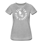 Women's Kale Premium T-Shirt - heather gray