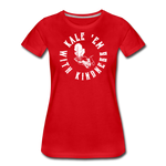 Women's Kale Premium T-Shirt - red