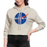 Women's Nasa Cropped Hoodie - dust