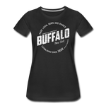 Women's Stamp Premium T-Shirt - black