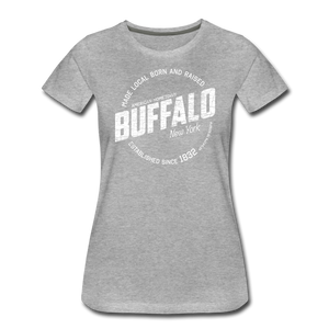 Women's Stamp Premium T-Shirt - heather gray