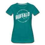Women's Stamp Premium T-Shirt - teal