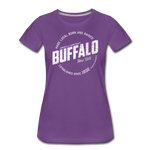 Women's Stamp Premium T-Shirt - purple